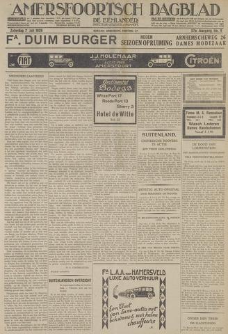 Amersfoortsch Dagblad / De Eemlander 1928-07-07