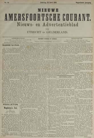Nieuwe Amersfoortsche Courant 1890-04-26