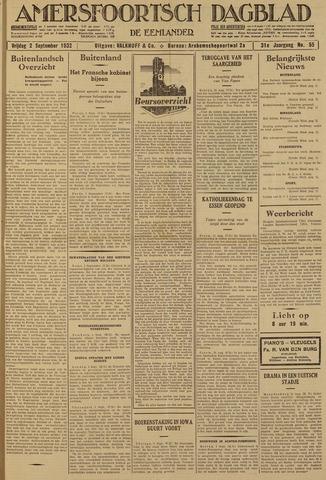 Amersfoortsch Dagblad / De Eemlander 1932-09-02