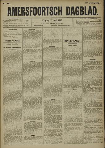 Amersfoortsch Dagblad 1910-05-27
