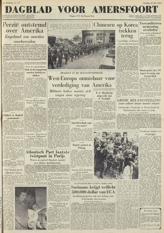 Dagblad voor Amersfoort 1951-05-22