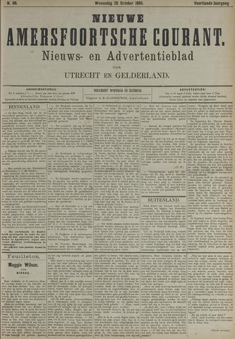 Nieuwe Amersfoortsche Courant 1885-10-28