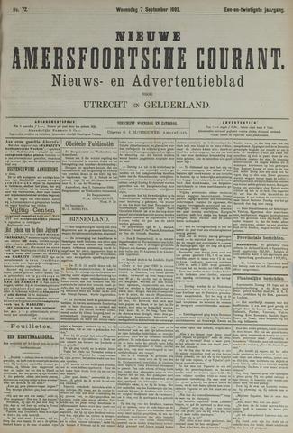 Nieuwe Amersfoortsche Courant 1892-09-07