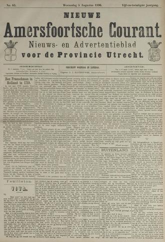 Nieuwe Amersfoortsche Courant 1896-08-05