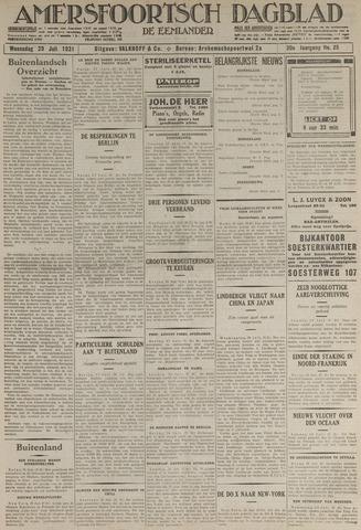 Amersfoortsch Dagblad / De Eemlander 1931-07-29