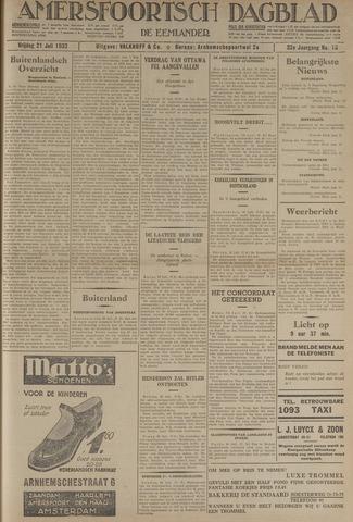 Amersfoortsch Dagblad / De Eemlander 1933-07-21