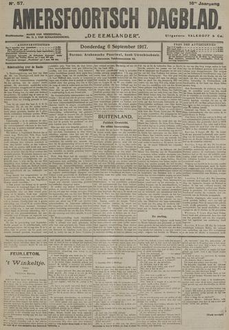 Amersfoortsch Dagblad / De Eemlander 1917-09-06