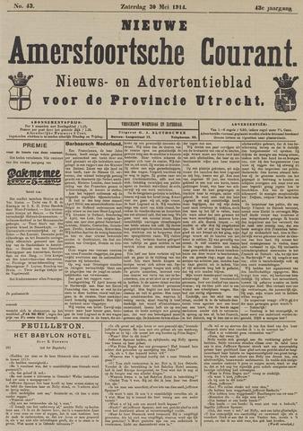 Nieuwe Amersfoortsche Courant 1914-05-30