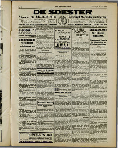 De Soester 1938-11-16