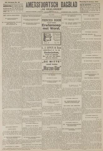 Amersfoortsch Dagblad / De Eemlander 1927-10-10