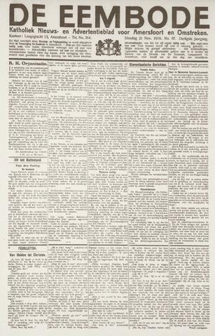 De Eembode 1916-11-21