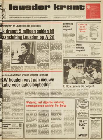 Leusder Krant 1985-01-31