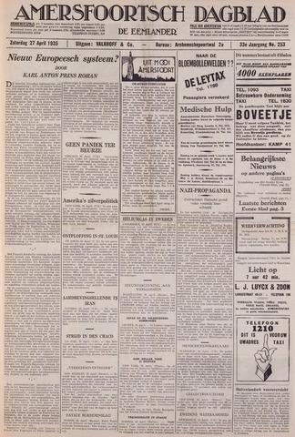 Amersfoortsch Dagblad / De Eemlander 1935-04-27
