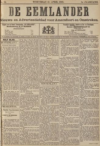 De Eemlander 1908-04-15