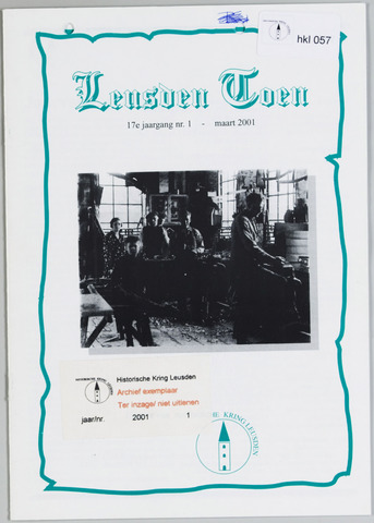 Historische Kring Leusden 2001-03-01