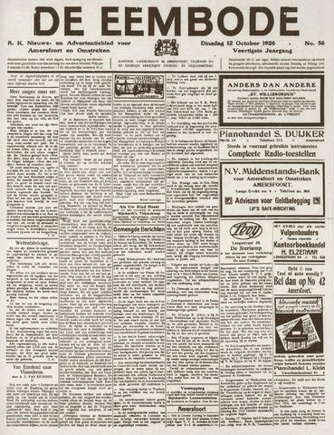 De Eembode 1926-10-12