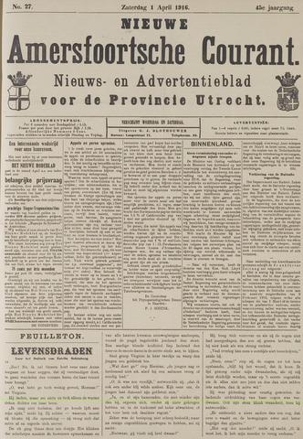 Nieuwe Amersfoortsche Courant 1916-04-01
