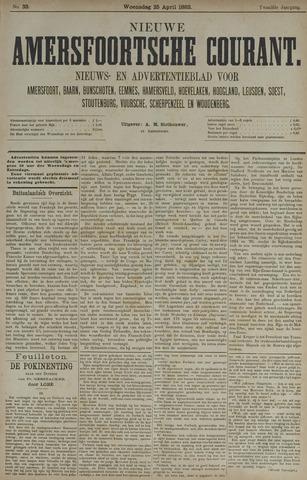 Nieuwe Amersfoortsche Courant 1883-04-25