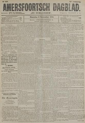 Amersfoortsch Dagblad / De Eemlander 1916-11-06
