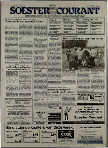 Soester Courant 2000-06-14