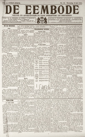 De Eembode 1913-06-18
