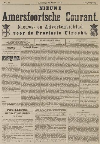 Nieuwe Amersfoortsche Courant 1914-03-21