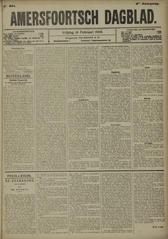 Amersfoortsch Dagblad 1908-02-14