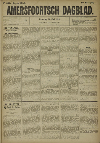 Amersfoortsch Dagblad 1910-05-28