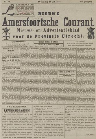 Nieuwe Amersfoortsche Courant 1916-07-19