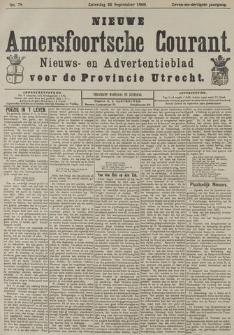 Nieuwe Amersfoortsche Courant 1908-09-26