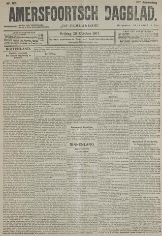 Amersfoortsch Dagblad / De Eemlander 1917-10-26