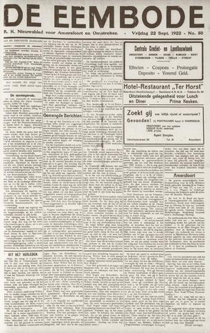 De Eembode 1922-09-22