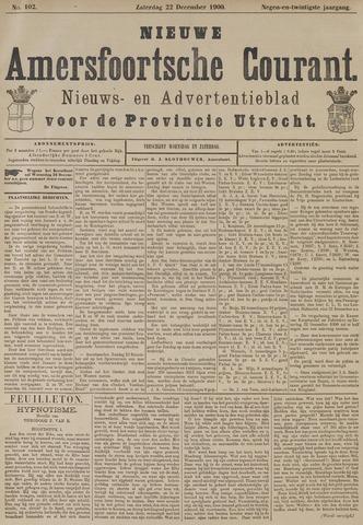 Nieuwe Amersfoortsche Courant 1900-12-22