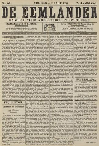 De Eemlander 1910-03-04