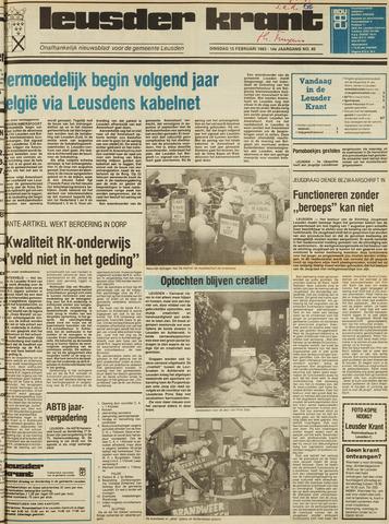 Leusder Krant 1983-02-15