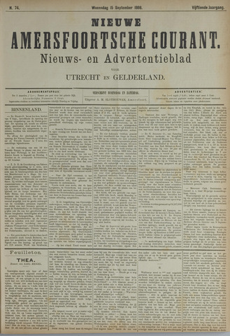 Nieuwe Amersfoortsche Courant 1886-09-15