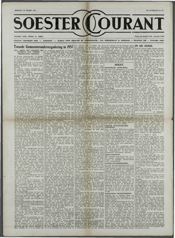 Soester Courant 1957-03-26