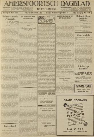 Amersfoortsch Dagblad / De Eemlander 1932-03-29