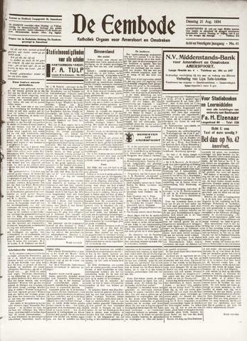 De Eembode 1934-08-21