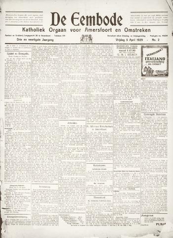 De Eembode 1929-04-05