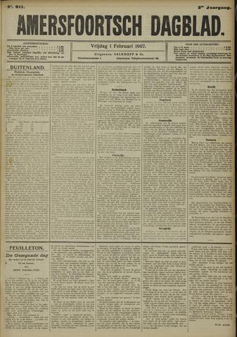 Amersfoortsch Dagblad 1907-02-01