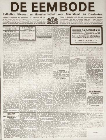 De Eembode 1915-09-17