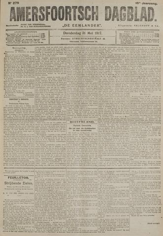 Amersfoortsch Dagblad / De Eemlander 1917-05-31