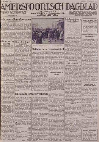 Amersfoortsch Dagblad / De Eemlander 1941-10-01