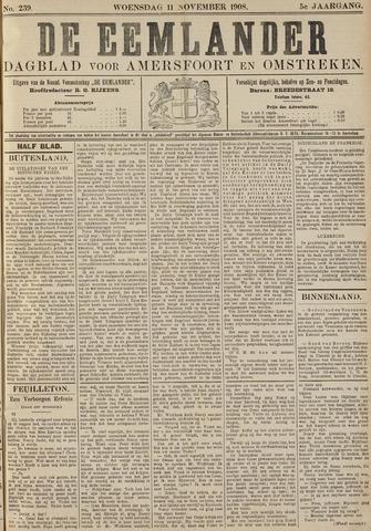 De Eemlander 1908-11-11