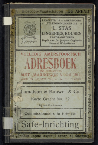 Adresboeken Amersfoort 1914