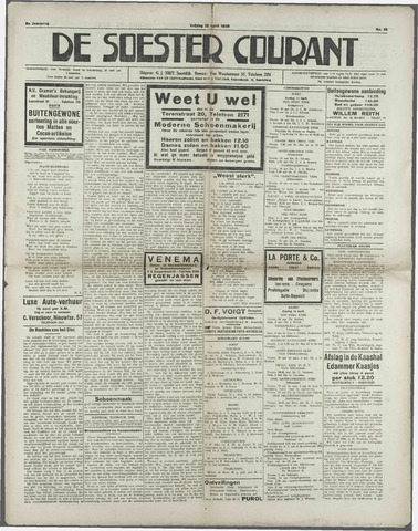 Soester Courant 1929-04-12