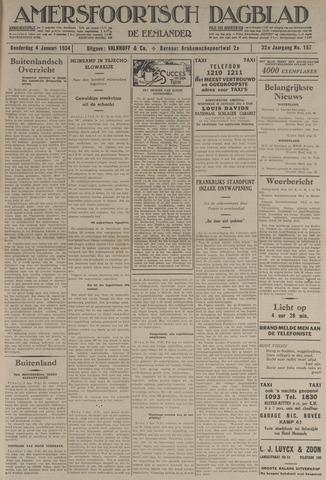 Amersfoortsch Dagblad / De Eemlander 1934-01-04