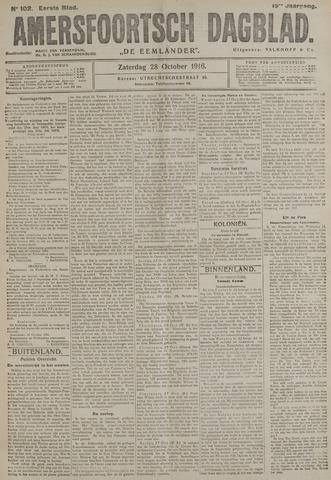 Amersfoortsch Dagblad / De Eemlander 1916-10-28