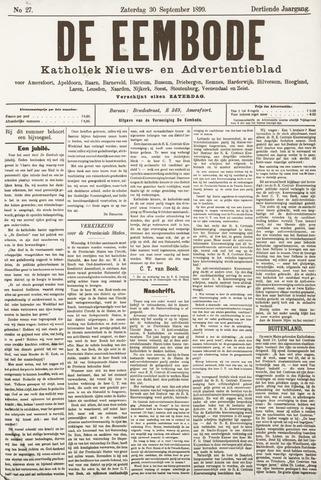 De Eembode 1899-09-30